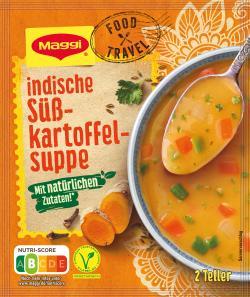 Maggi Indische Süsskartoffel Suppe Mit natürlichen Zutaten 500ml