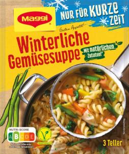 Maggi Winterliche Gemüsesuppe 3 Teller für 750ml