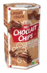 Nestlé Choclait Chips Lebkuchen Geschmack 115g