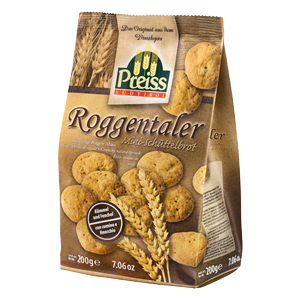 Preiss Roggentaler Kümmel und Fenchel 200g