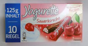 Ferrero Yogurette Sauerkirsche 10 Riegel 125g