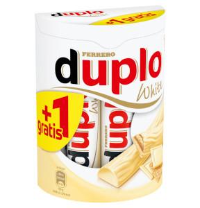 5- Ferrero Duplo White 200g für 11 Riegel je 18,2g (11 + 1 gratis)
