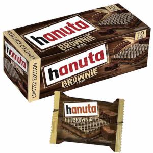 Hanuta Haselnuss-Schnitte Brownie Style 220g für 10 Stück