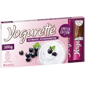 Ferrero Yogurette Schwarze Johannisbeere 100g für 8er
