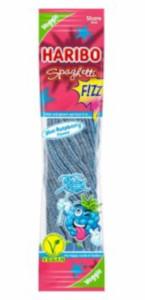 Haribo Spaghetti Fizz Blue Raspberry Flavour (Vegan) 200g