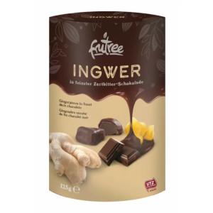 Frutree Ingwer in feinster Zartbitter-Schokolade 150g