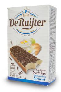 De Ruijter Milchschokoladen Streusel 400g