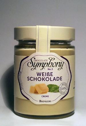 Brinkers Chocolate Symphony no.3 Weiße Schokolade 270g