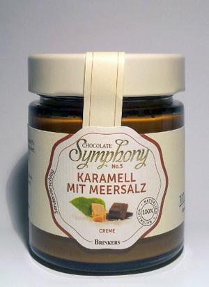 Brinkers Chocolate Symphony no.5 Karamell mit Meeressalz 200g