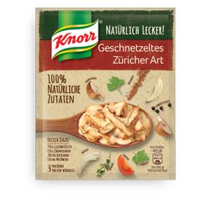 Knorr Natürlich Lecker! Geschnetzeltes Züricher Art 32g für 3 Port