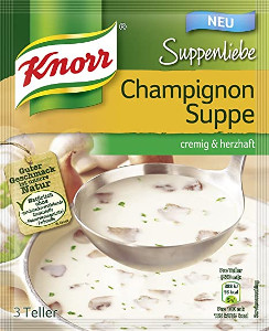 Knorr Suppenliebe Champignon Suppe 58g