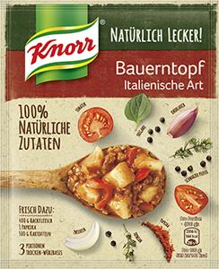 Knorr Natürlich Lecker! Bauerntopf Italienische Art 60g