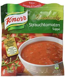 Knorr Feinschmecker Strauchtomaten Suppe 2 Teller für 500ml