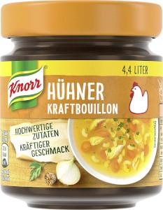 Knorr Hühner Kraftbouillon 88g für 4,4 Liter