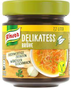 Knorr Delikatess Brühe 144g für 7,2 Liter