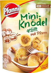 Pfanni Mini-Knödel gefüllt mit Pilzen 320g für 16er