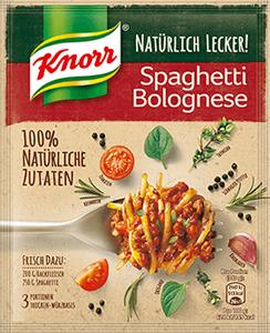 Knorr Natürlich Lecker! Spaghetti Bolognese 43g