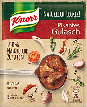 Knorr Natürlich Lecker Pikantes Gulasch (3 Port)
