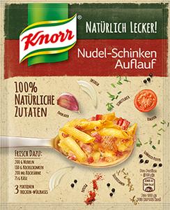 Knorr Natürlich Lecker! Nudel-Schinken Auflauf 44g (3 Portionen)