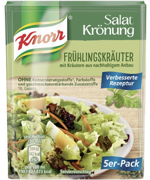 Knorr Salat Krönung Frühlings-Kräuter 5er x 8g