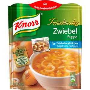 Knorr Feinschmecker Zwiebel Suppe 62g für 3 Teller