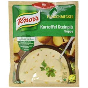 Knorr Feinschmecker Kartoffel Steinpilz Suppe 58g für 500ml