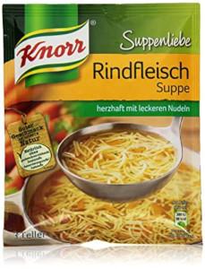 Knorr Suppenliebe Rindfleisch Suppe 76g für 3 Teller