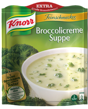 Knorr Broccolicreme Suppe 2 Teller