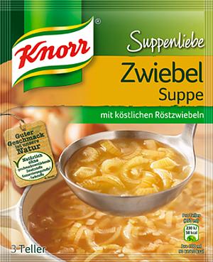 Knorr Suppenliebe Zwiebelsuppe 46g für 3 Teller