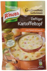 2- Knorr Großmutters Geheimnis Deftiger Kartoffeltopf 90g für 600ml