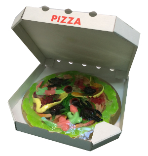 Look o Look Jungle Candy Pizza 435g