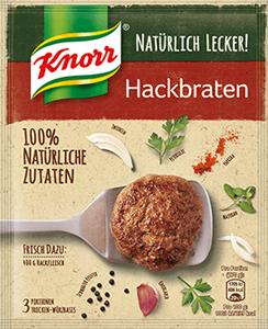 Knorr Natürlich Lecker! Hackbraten 63g für 3 Poritonen