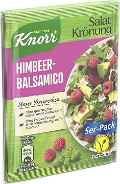 Knorr Salat Krönung Himbeer-Balsamico 5er x 7,5g