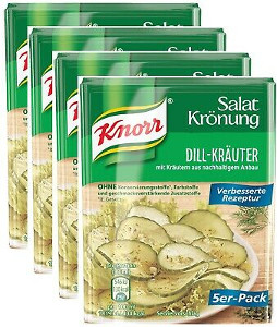 Knorr Salat Krönung Dill-Kräuter 5er x 9g