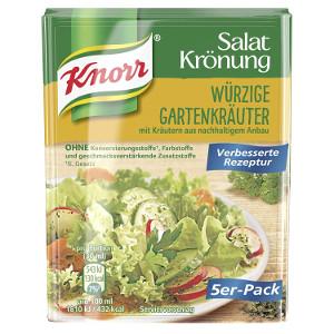 Knorr Salat Krönung Würzige Gartenkräuter 5er x 8g