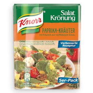 Knorr Salat Krönung Paprika-Kräuter 5er x 9g