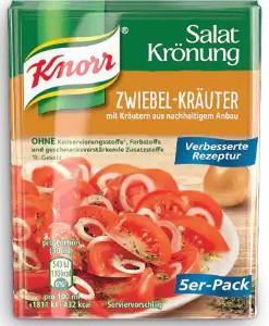Knorr Salat Krönung Zwiebel-Kräuter 5er x 8g