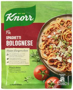 Knorr Fix Spaghetti Bolognese 38g für 3 Portionen