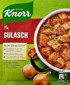 Knorr Fix Für Gulasch 46g für 4 Portionen