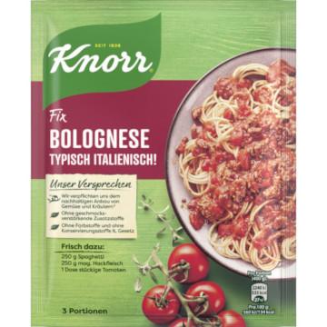 Knorr Fix Bolognese Typisch italienisch 42g für 3 Portionen