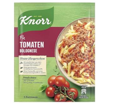 Knorr Fix Tomaten Bolognese 46g für 3 Teller