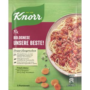 Knorr Fix Bolognese Unsere Beste 38g für 3 Portionen