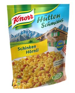 Knorr Hütten Schmaus Schinken Hörnli 156g