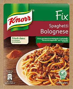 Knorr Fix Spaghetti Bolognese (42g)