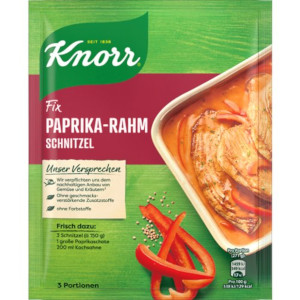 Knorr Fix Paprika Rahm Schnitzel  43g