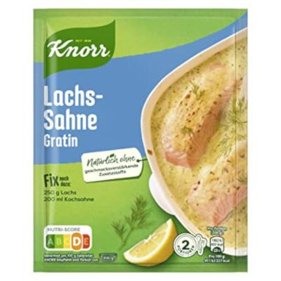 Knorr Fix Lachs-Sahne-Gratin 28g für 2 Teller