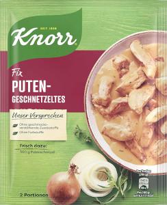 Knorr Fix Puten Geschnetzeltes 36g für 2 Teller