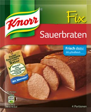 Knorr Fix Sauerbraten (4 Port)