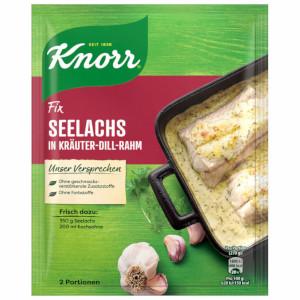 Knorr Fix Seelachs in Dill-Kräuter-Rahm 30g für 2 Portionen