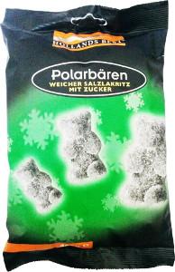 Hollands Best Polarbären Weicher Salzlakritz mit Zucker 400g